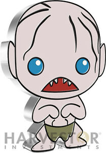 2021 CHIBI COIN - LORD OF THE RINGS SERIES: GOLLUM - 1 OZ. SILVER COIN - OGP COA