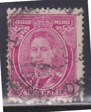 (K96-108) 1937 AU 1/4d magenta KGVI (DE)