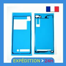 POUR Sony Xperia Z2 D6502 Avant + Retour Adhésif Autocollant Sticker Colle Ruban