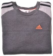 ADIDAS Boys Sweatshirt Jumper 11-12 Years Grey Cotton  FK12