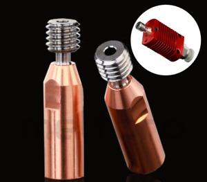 Ender 3 Ender 5 CR-10 CR10 bimetall Vollmetall heatbreak Zuführrohr Kupfer Titan