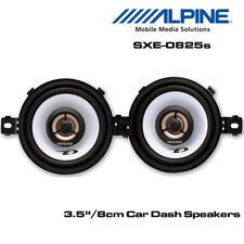 """Alpine SXE-0825S - Altavoces coaxiales de 3.5"""" 8cm 2-Way coche 300W Potencia Total"""