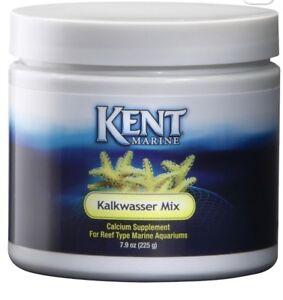 Kent Marine Kalkwasser Mix 225 gram Powder Aquarium Supplement 7.9 Oz