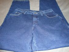 WRANGLER BLUES Ladies WB101AD Relaxed Fit Size 12 x 34 NWT Denim Jeans       B5