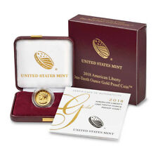 2018 American Liberty Gold High Relief (1/10 oz) Proof $10 in OGP