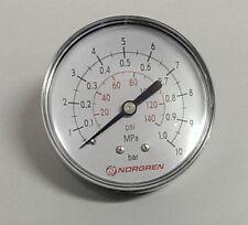 NORGREN 18-013-890 -NEW- ; Manometer Ø63mm, 0-10 bar/PSI G1/8H