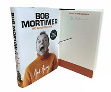 More details for signed book - and away... by bob mortimer autobiography first edition 1st print