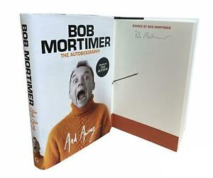 Signed Book - And Away... by Bob Mortimer Autobiography First Edition 1st Print