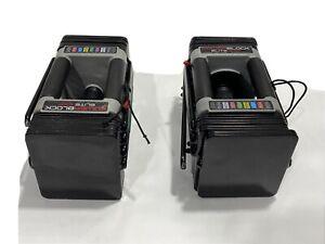2 Dumbbell Set Powerblock Elite EXP 2020 - Adjustable Dumbbell Damaged 50lbs New