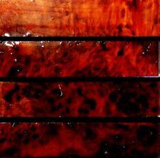 Australian River Red Gum Burl Wood Knife Blocks (Resin Cast)