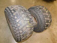 honda trx200 200 fourtrax 200 rear back rims wheels tires atc200es big red 1984