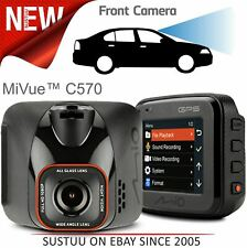 "Mio Mivue C570 2"" Car GPS Dash Camera│Full HD 1080p Video Recording│G-Sensor"