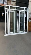Upvc french doors with side windows