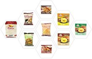 Saras Indian Snacks/Namkeen-All Varieties Bhel puri,Sev,Khakhra,Poha and more