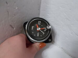 1962 Ford Galaxie Electric Clock. Serviced, Tested and Working. BEAUTIFUL!!!