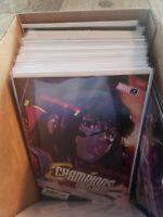 Champions #1 Toni Infante 2nd Print Variant, NM, Kamala Khan, Marvel Comics