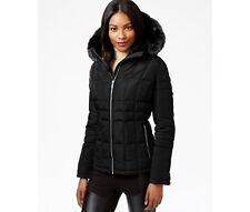 Womens black puffy jacket