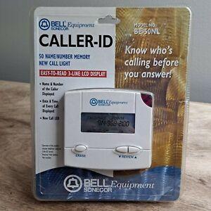 BELL Sonecor Equipment CALLER ID Name & Number BE-50NL New Open Box