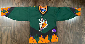 Phoenix Arizona Coyotes Alternate NHL Hockey Jersey Vintage Youth Size S/M Blank