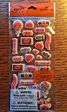 Halloween Stickers ~ HALLMARK Puffy Candy Treats ~ 2 sheets in 1 package
