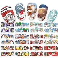 Adesivi Unghie-Nail Water Transfer Stickers-Decorazione NATALIZIE-Buy 3 Get 4