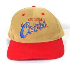 Vintage Original Coors Beer Trucker Hat Snapback Hat Cap Great Condition