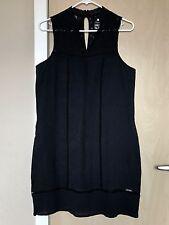 SUPERDRY British Design/Spirit of Japan Black Sleeveless Dress Size L $129.00