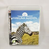 HAKUNA MATATA game - AFRIKA - Sony PlayStation 3 PS3 Complete CIB