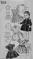 "234 Vintage Chubby Doll Pattern - Size 18"" - Korean War Year 1950"