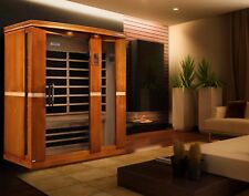 Dynamic 3 Per Far Infrared Sauna Palermo Edition 8 Carbon Heating Panels Low EMF