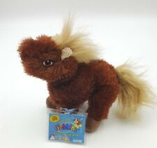 Webkinz Small Toy Kinz Brown Horse Code Card Atatched
