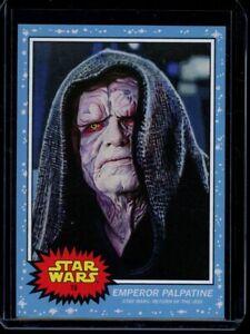 2020 Topps Star Wars Living Set #79 Emperor Palpatine SP Card Return of the Jedi