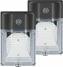 Outdoor Security Light LED With Photocell Dusk To Dawn Wall Mount 2-Pack 26-Watt