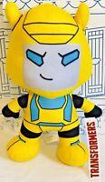 New TRANSFORMERS Bumblebee Plush TOY FACTORY HASBRO Yellow Doll Car Robot Kawaii