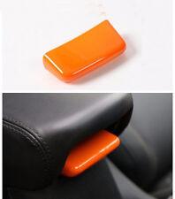 1*Car Inner Armrest Storage Box Switch Cap-Orange For 2015-2017 Jeep Renegade