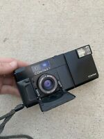 CONTAX T Black Rangefinder 35mm Film Camera Carl Zeiss 2.8f Point & Shoot Tested