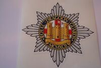 """2 X ROYAL DRAGOON GUARDS  HM ARMED FORCES  STICKERS  4"""" BRITISH ARMY"""