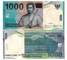 L' Indonésie Indonesia 1000 1.000 rp 2000/2008 unc p 141