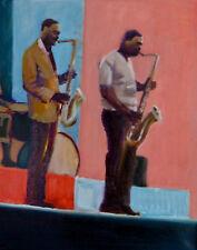 JOHN COLTRANE MUSIC painting contemporary ART Berry van Boekel TOP 100