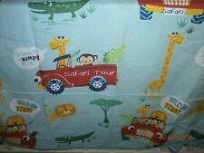 George Safari tour Wild Animal Children Single Duvet Cover Set cotton polyester