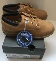 Timberland youth jeunes boys /girls shoes classic oxford wheat size UK 1.5 EU 34