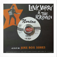 """45RE ✦ LINK WRAY ✦ """"Hang On / The Shadow Knows"""" - Monster Instrumental"""