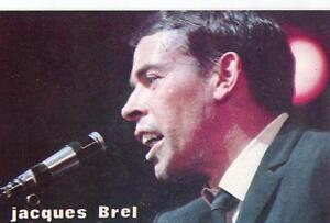 JACQUES BREL -  Postcard - France