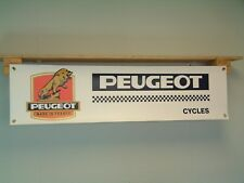 Peugeot Cycles BANNER bicycle retro cycle racing Display sign PX10 PRO10S U 08