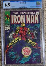 Iron Man 1 CGC 6.5 White Pages!