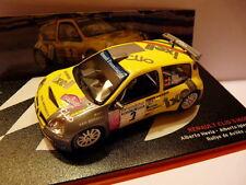 voiture 1/43 IXO altaya Rallye Champions Espagne : Renault Clio S 1600 Hevia 04