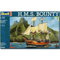 REVELL H.M.S. Bounty 1:110 Model Kit Ships - 05404