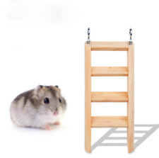HamsterLadder Natural Living Climbing Wall Wood Toys Small Animal Mouse  Parrot