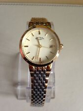 Rotary Ladies' Two-Tone Quartz Bracelet Watch Date Display
