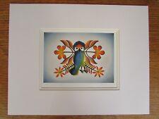 New GRAND ENTRANCE,  2008  by Inuit artist KENOJUAK ASHEVAK matted art print